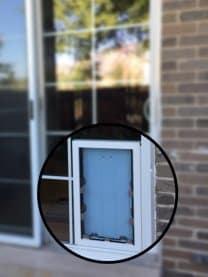 In Glass Pet Doors Sliding Glass Storm Doors French